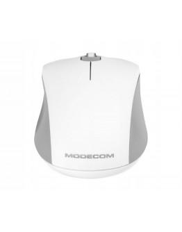Mysz bezprzewodowa MODECOM WM10S SILENT biała