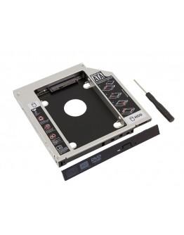 """Kieszeń na dysk SATA HDD SSD 2,5"""" aluminiowa"""