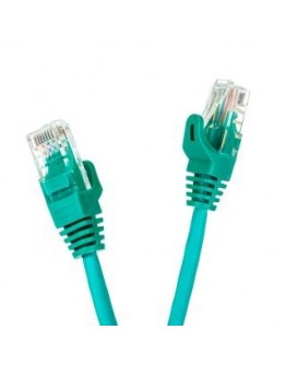 Patchcord UTP cat.5e 15m START.LAN zielony