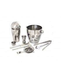 Zestaw barmana metalowy 8 elementów