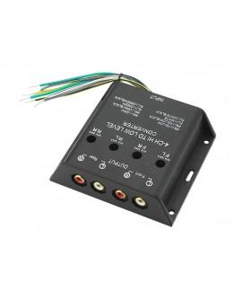 Konwenter poziomu sygnału audio 4 kanały