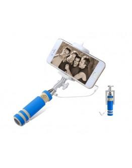 MONOPOD mini selfie niebieski ST13D