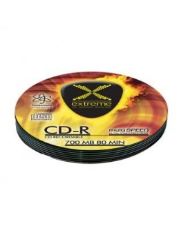 CD-R Extreme 56x 700MB (Soft Pack 10) Silver