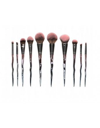 Profesjonalny zestaw pędzli do makijażu Beautifly PRO-SET