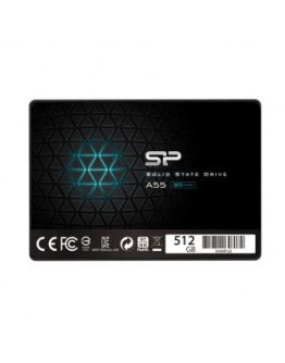 """Dysk SSD Silicon Power A55 512GB 2.5"""" SATA3 (560/530) 3D NAND, 7mm"""