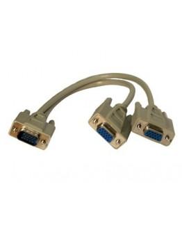 Rozdzielacz VGA na dwa porty