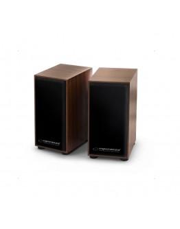 Głośniki USB 2.0 Esperanza FOLK EP122 brązowe