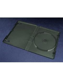 Pudełko Esperanza na 1 DVD 14mm do pakowania maszynowego 90 cykli 3106 czarne