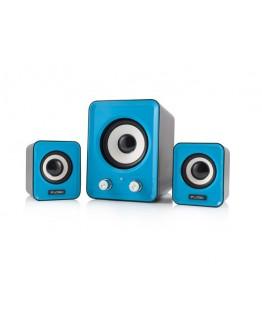 Głośniki 2.1 LOGIC LS-20 Niebieskie