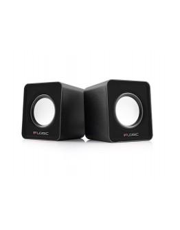 Głośniki 2.0 LOGIC LS-09 czarne