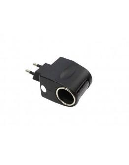 Adapter sieciowy z gniazdem zapalniczki 220/12V