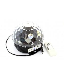 Kula dyskotekowa projektor MP3 / USB / Bluetooth