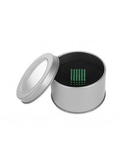 Kulki magnetyczne 3mm 216szt w etui z okienkiem zielone