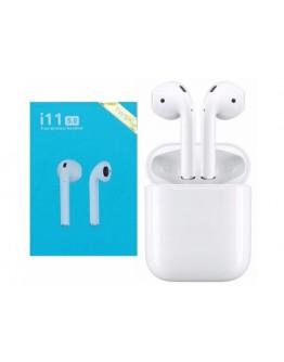 Słuchawki bezprzewodowe Bluetooth 5.0 TWS Białe