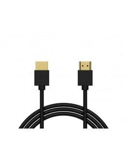 Kabel przyłącze BLOW HDMI-HDMI BLACK proste 1,5m 4K 2.0