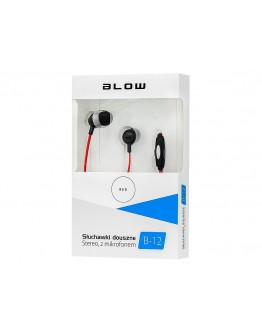 Słuchawki B-12 RED douszne