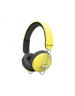 Słuchawki BLOW HDX200 YELLOW nagł.