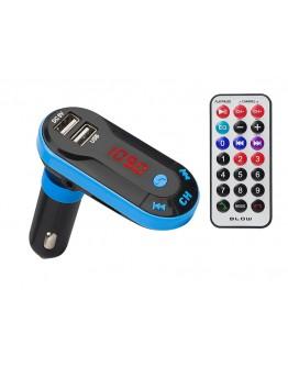 Transmiter FM 12/24 V BT 4.2 + USB + pilot BLOW
