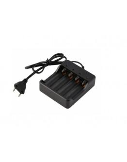Ładowarka do akumulatorów 18650 x4