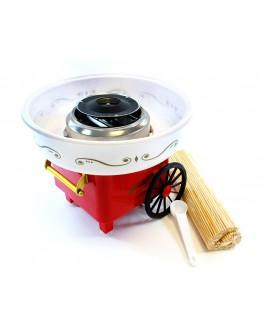 Maszyna do waty cukrowej czerwona