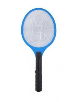 Łapka na muchy elektryczna akumulatorowa - niebieska