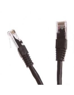 Patchcord UTP cat.5e 1m START.LAN czarny