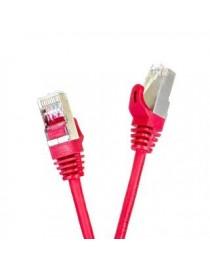Patchcord FTP cat.5e 15m START.LAN czerwony