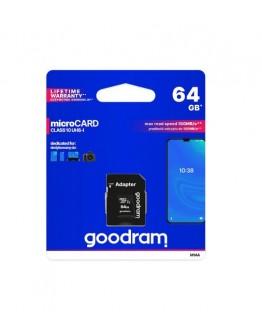 Karta pamięci GOODRAM micro SDXC 64GB CL10 UHS I