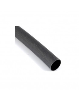 Rurka termokurczliwa 1 / 0,5 czarna komplet 10szt / 10m