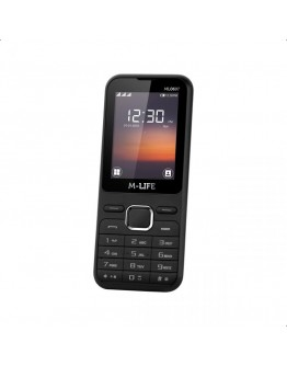 Telefon dla seniora GSM M-Life ML600 czarny