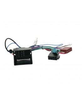 Kostka ISO do AUDI SEAT VW Quadlock - ISO + Separator Fakra + DIN