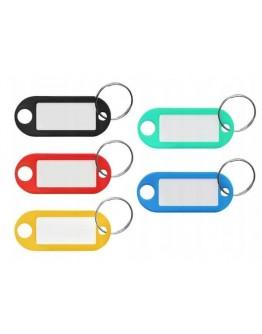 Brelok identyfikacyjny do kluczy 1szt kolor
