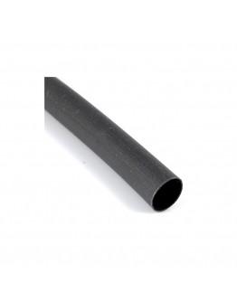 Rurka koszulka termokurczliwa  8,0 / 4,0 czarna komplet 10szt / 10m
