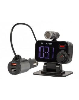 Transmiter FM BLOW Bluetooth 5.0 + zestaw głośnomówiący