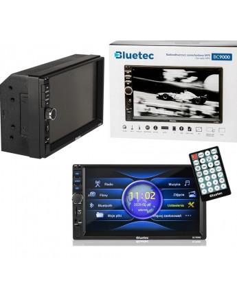 Radio samochodowe 2DIN 7 CALI BLUETEC BC9000
