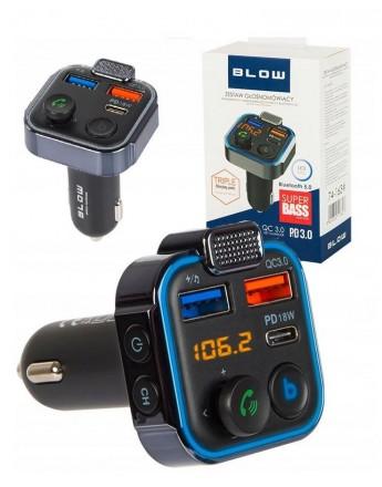 ładowarka Transmiter FM BLOW Bluetooth 5.0 QC3.0