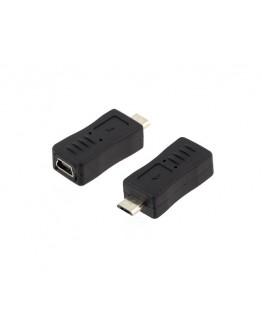 Przejściówka MINI USB na micro USB AK216