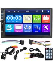 Radio samochodowe LCD 2DIN z kamerą cofania WDS-40