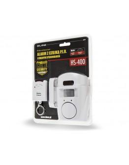 Alarm z czujką PIR i zdalnym ster. HS400 6274