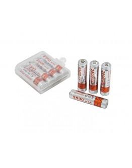 Akumulator AAA 2500mAh NI-MH  (komplet 4 szt.)