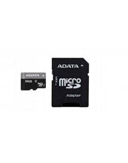 Karta pamięci Adata 64gb UHS-1 CL10 +ad. -RA1