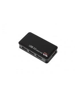 HUB USB 3.0 4 porty + zasilacz 5V