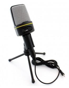 Mikrofon z uchwytem + statyw