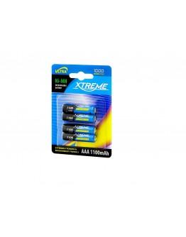 Akumulator R3 Ni-MH AAA 1100mAh XTREME 4szt
