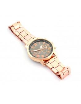 Zegarek Retro czarno-złoty bransoleta