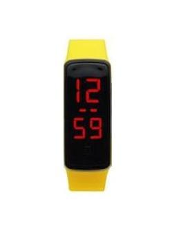 Zegarek LED opaska A135 żółty