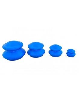 Bańki chińskie gumowe 4szt