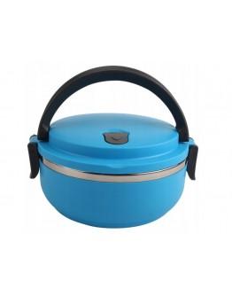 Lunchbox termos obiadowy pojed. Niebieski XJ002